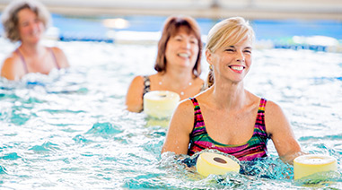 Teilnehmerinnen Aquafitness Light Kurs